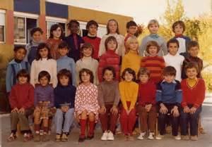 photo de classe foto souvenir d un temp perdu a l ecole marcel pagnol de port de bouc de 1980