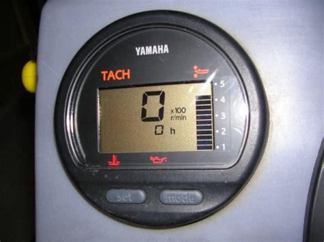 comment brancher un tach yamaha sur un moteur 50cv 2 temps discount marine