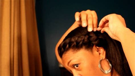 protective style 5 for relaxed natural or transitioning