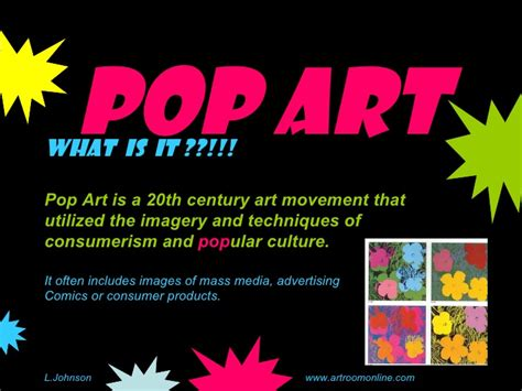 pop art slideshow