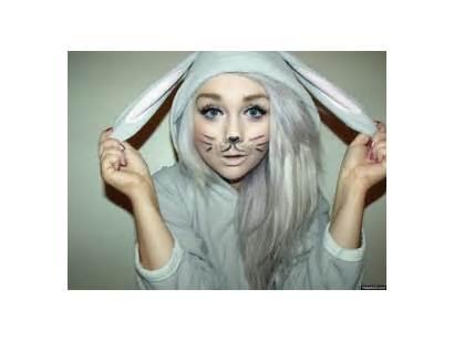 Makeup Eyes Rabbit Bunny Gifs Pretty Face