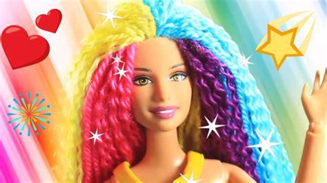 Barbie Hair 💇 Barbie Hairstyle Tutorial 😱 Barbie Hair