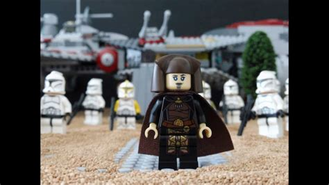 Star Wars The Clone War Story Chapter One Lego Star Wars
