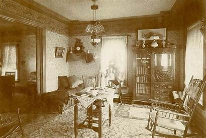 Victorian Interiors Rooms 1890s Parlor 1900s Decorating