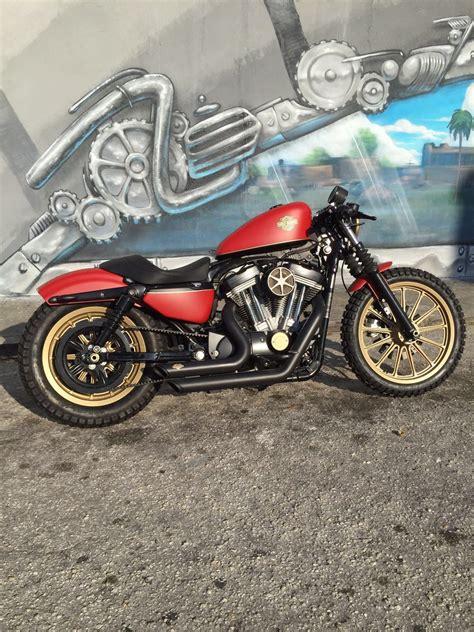 Harley Davidson Cafe Racer For Sale by 2009 Harley Davidson Sportster Scrambler Cafe Racer For Sale