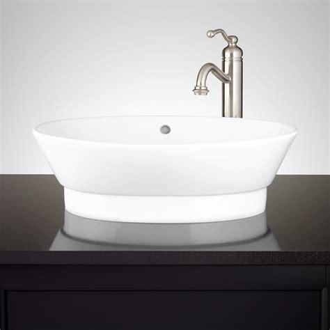 tub basin riona oval porcelain vessel sink vessel sinks bathroom