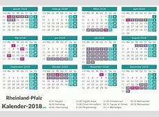 FERIEN RheinlandPfalz 2018 Ferienkalender & Übersicht
