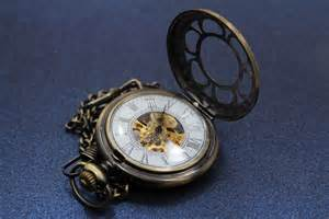 Pocket Watch with Gears Exposed