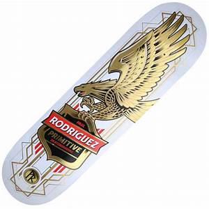 Primitive Skateboarding Primitive Paul Rodriguez Eagle ...
