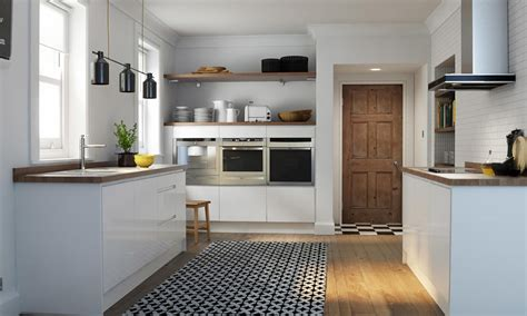 Sleek And Sophisticated Highgloss Kitchen Design  Wren. Kitchen Curtain Ideas Pictures. Black Kitchen Cabinets White Appliances. Furniture Style Kitchen Island. White Kitchen Stainless Appliances. Black And White Modern Kitchen Designs. Island For Kitchen Ideas. Kitchen Island Lighting. Kitchen Island Contemporary
