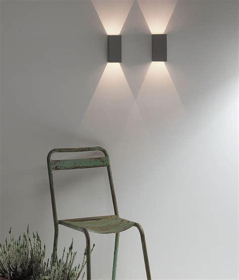 led   exterior ip wall light  crisp white