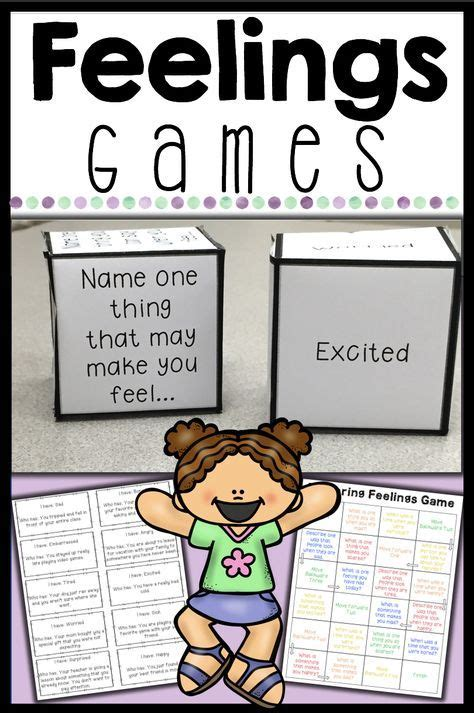 Feelings Games For Identifying Feelings And Emotions ...