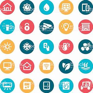 Smart Home Icon : smart home icons stock vector art more images of air conditioner 515670328 istock ~ Markanthonyermac.com Haus und Dekorationen