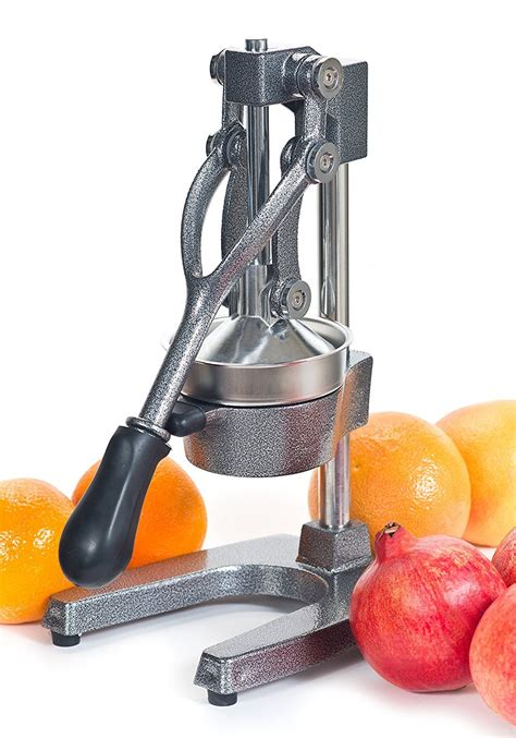 juicer juice manual citrus press commercial pomegranate hand juicers orange juices grapefruit cast iron amazon health kitchen grapefruits oranges lemons