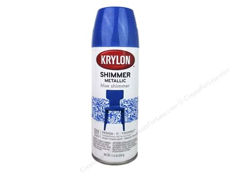 Krylon Shimmer Metallic Spray Paint 11.5 Oz. Blue How To Dress For My Baby Shower Block Cake Decoraciones De Ni?o Red And Gray Pram Invitations Google Custom Candy Showers