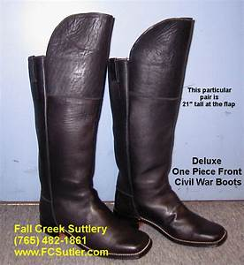 Sutler Of Civil War Boots And Shoes Fall Creek Suttlery