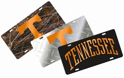 Vols License Plates Ut Hounddogs Knoxville Apparel