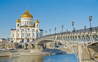 Christ Moscow Cathedral Russia Saviour Wallpapers13