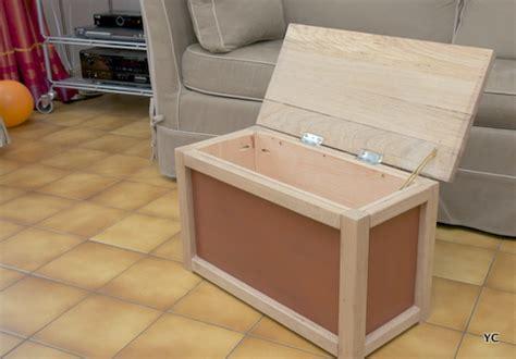 menuisier cuisine a faire soi même fabriquer un coffre à jouets une