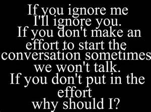 Ignoring Me Quotes And Sayings Ialoveniinfo