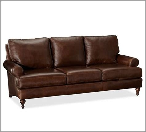 Pottery Barn Chesterfield Grand Sofa by Leather Sofa Pottery Barn For The Home
