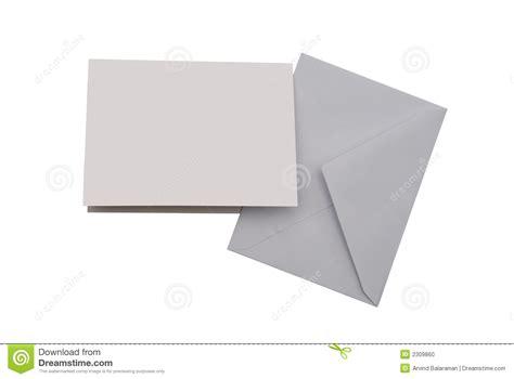 Blank Greeting Card Stock Photo  Image 2309860