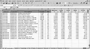 Roof Cost Estimation General Construction Sheet  Roof