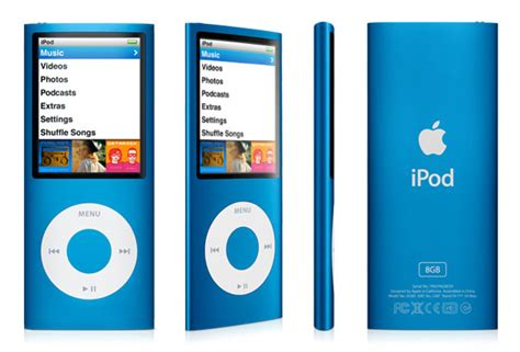 ipod nano generationen apple ipod nano 8 gb 4th generation blue