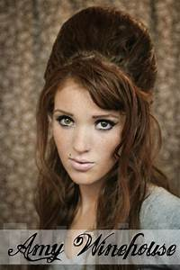 The Freckled Fox: Hair Tutorial// Amy Winehouse + Beehive ...