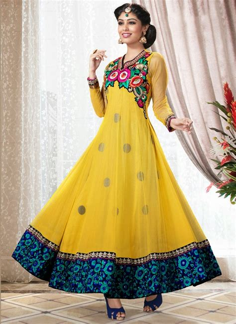 Latest Fashion Indian And Pakistani Frock Designs 2017