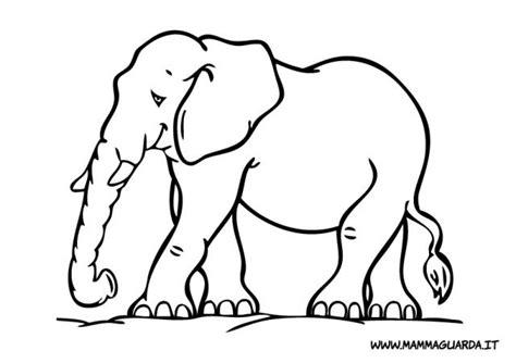 elefante da colorare mammaguarda elefanti da colorare