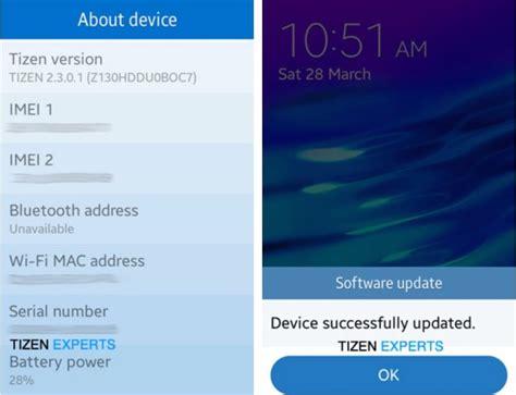 new samsung z1 tizen update releases phonesreviews uk mobiles apps networks software