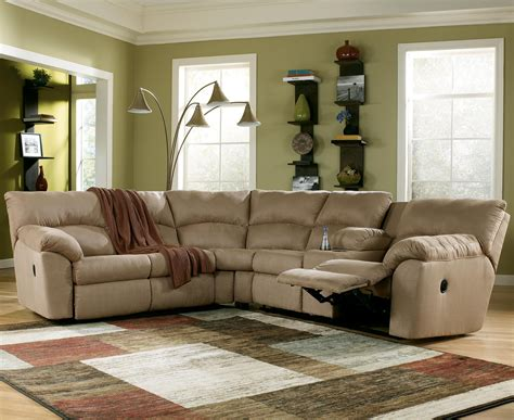 Living Room Comfortable Ashley Furniture Sectionals For