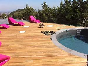 habiller une terrasse gallery of habiller et quiper sa With beautiful comment poser des margelles de piscine 18 terrasse jardin pierre