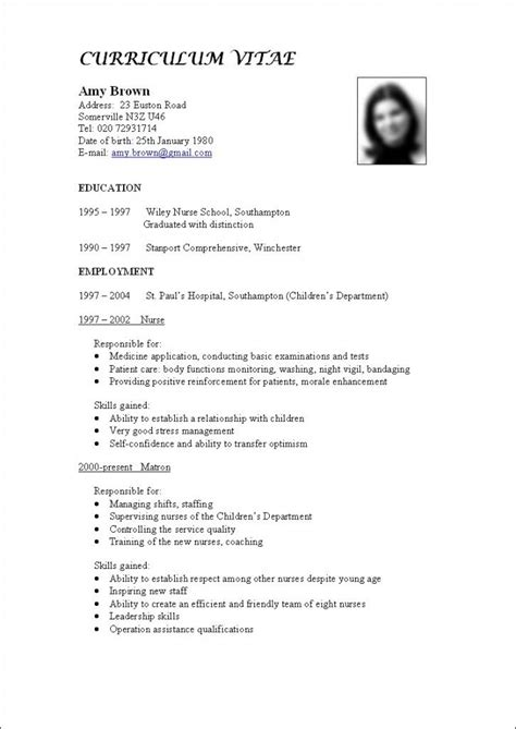 Do You Staple A Curriculum Vitae by 18 Best Images About How To Write A Cv On Language And Template
