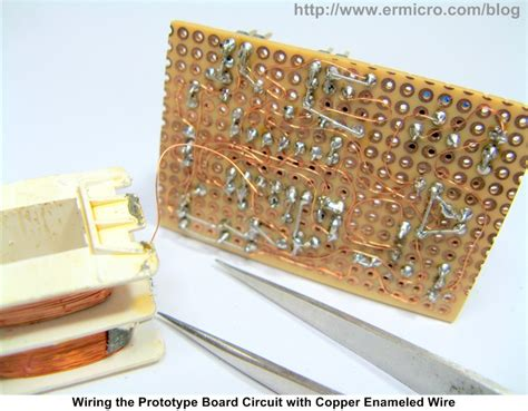 Quick Efficiently Wiring Your Prototype Circuit Board
