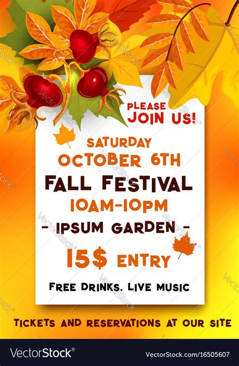 Fall Festival Of Autumn Harvest Banner Template Vector Image. Rock Concert Posters. Content Calendar Template Excel. Christmas Poster Ideas. Project Plan Powerpoint Template. Pay Stub Excel Template. Bar Menu Template. Web Design Templates. Statement Of Intent Graduate School
