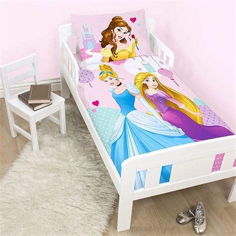2030 disney princess bedroom set disney princess junior cot bed duvet cover toddler new