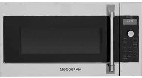 monogram   range microwave oven zsajss