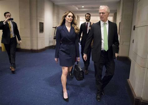 Hope Hicks reportedly answers few questions before House ...