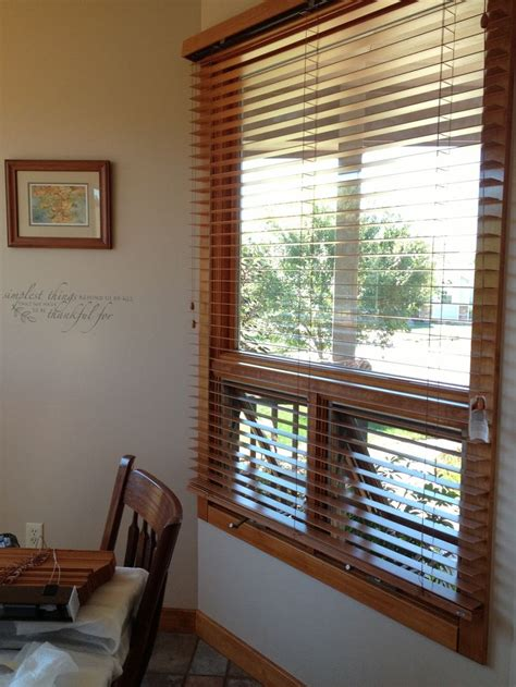 exterior mounting bali wood blinds   solution