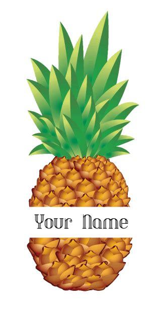 pineapple monogram