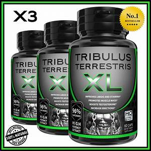 Tribulus Terrestris Extract 96  Saponins Grow Muscle Testosterone Booster Pills