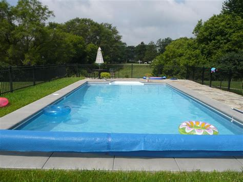 Completed Inground Swimming Pools & Landscaping