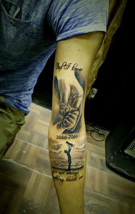 die  besten vater gewidmet tattoos designs und ideen