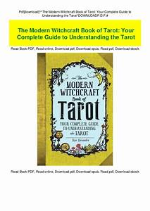 Pdf Download   The Modern Witchcraft Book Of Tarot  Your