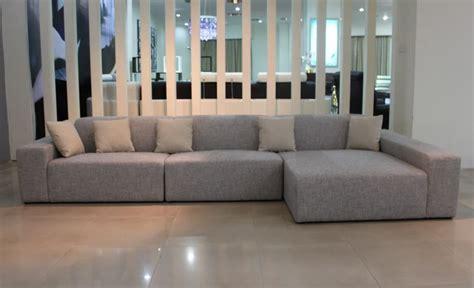 canapé contemporain tissu canape d angle tissus salon vanda canape
