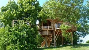 Constructeur Cabane Dans Les Arbres : cabane spa dans les arbres montauban ~ Dallasstarsshop.com Idées de Décoration
