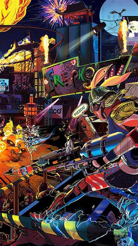 Pictures For Lock Screen Sunset Overdrive Wallpapers Or Desktop Backgrounds