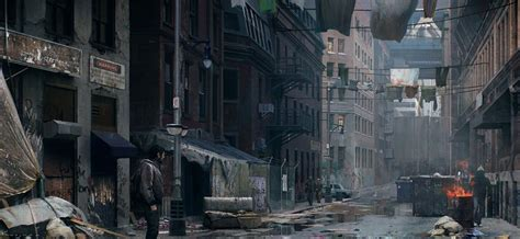The Last Of Us Animated Wallpaper - post apocalyptic boston the last of us speedvore
